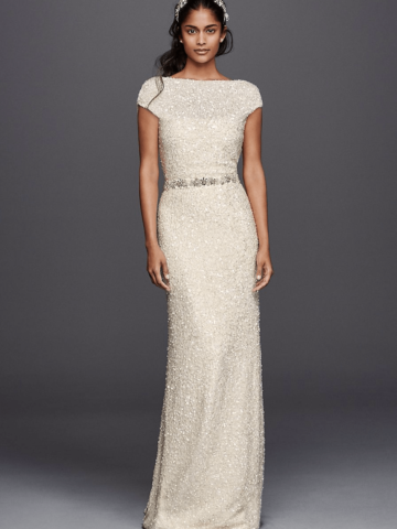 Sequin Wedding Dress - Wonder by Jenny Packham