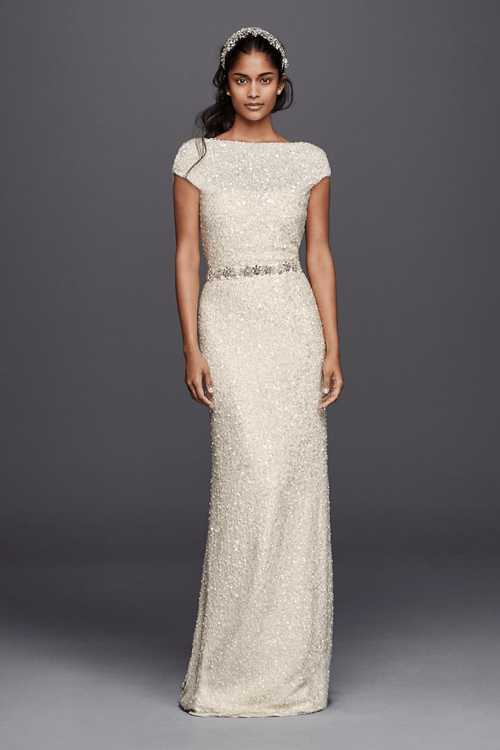 Sequin Wedding Dress - Wonder by Jenny Packham