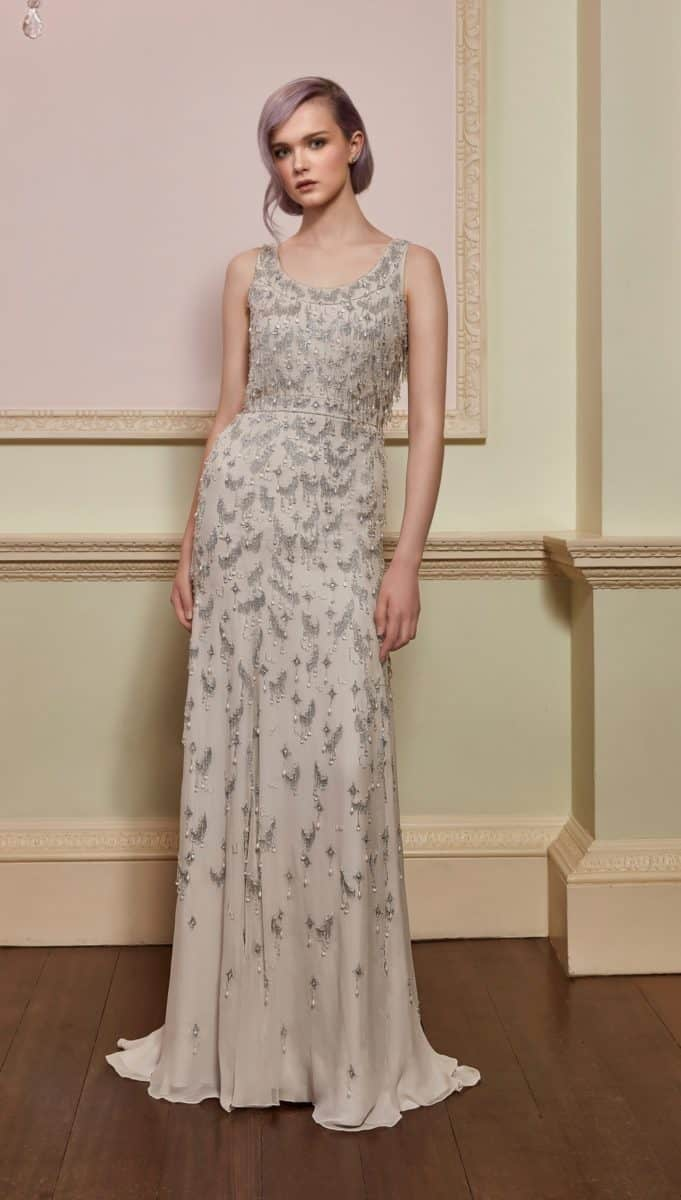 ackham Wedding Dress - Treasure in Barley