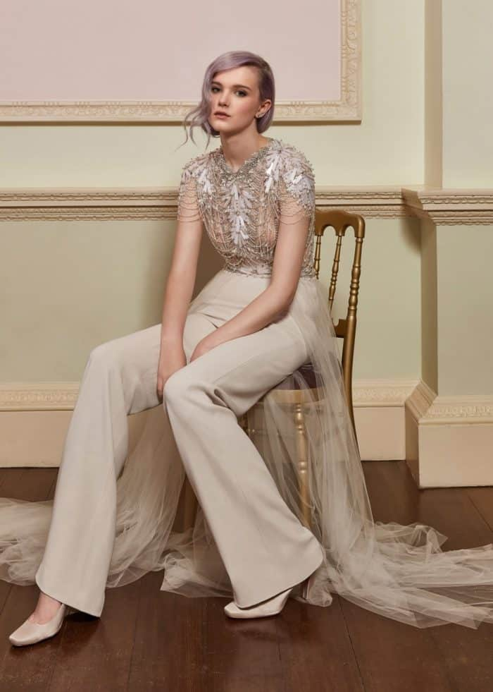 Jenny Packham Bridal Pants and Top