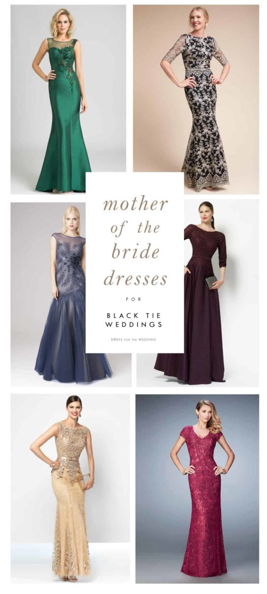 Mother Of The Bride Dresses For Black Tie Weddings Dress