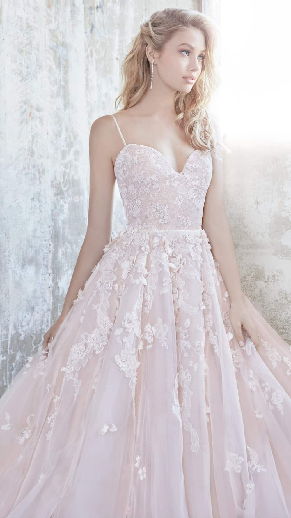 Blush wedding dress 2018 Arden by Hayley Paige