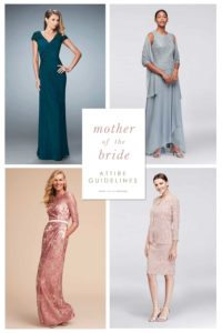 attire guidelines for mother of the bride and mother of the groom