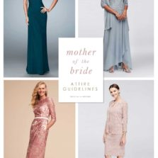 Mother of the Bride and Mother of the Groom Attire Guidelines