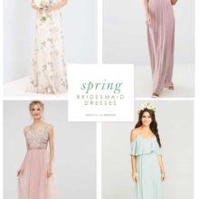 Spring Bridesmaid Dresses