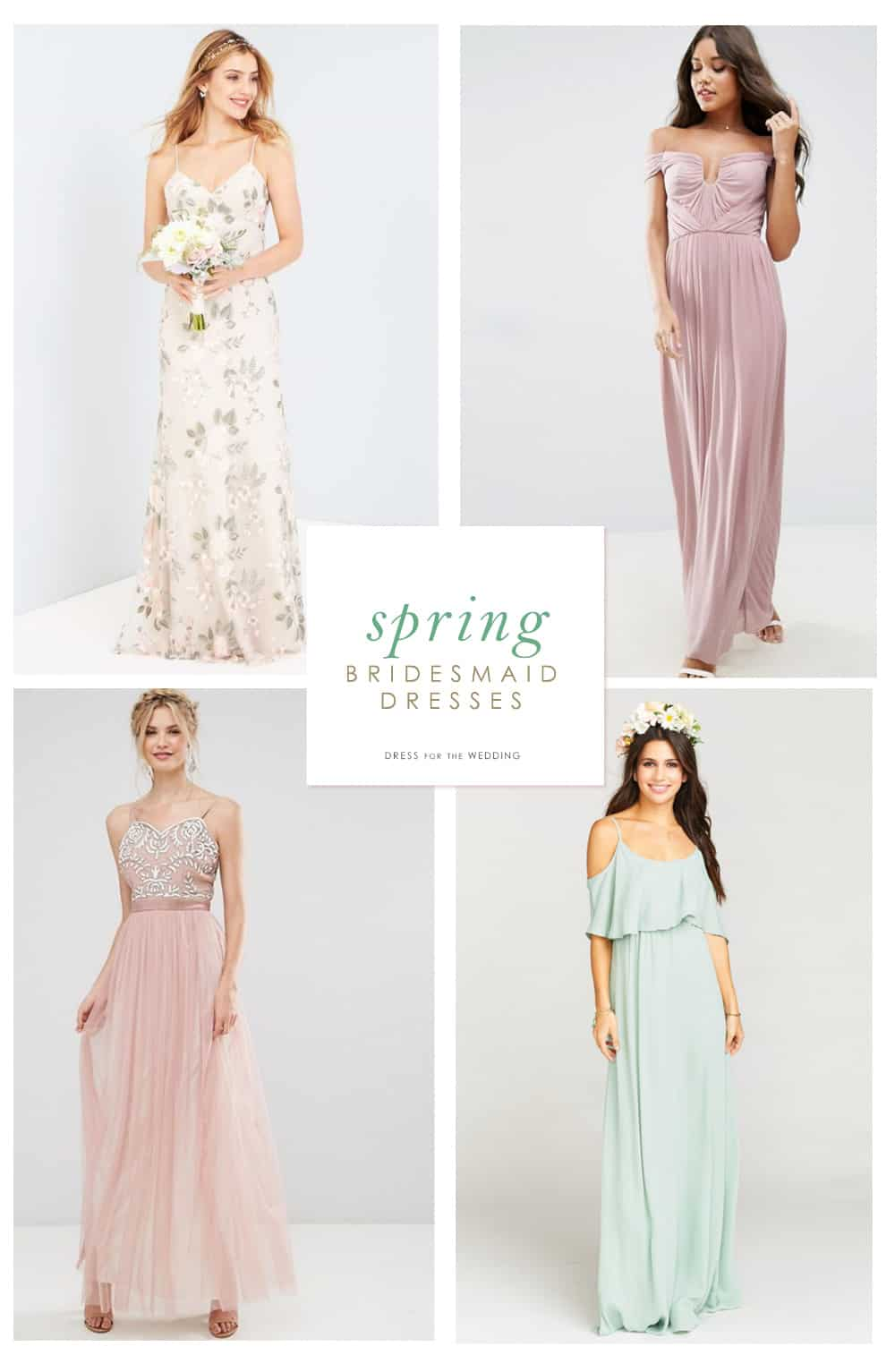 Spring bridesmaid dresses dress for the wedding bridesmaid dresses for spring weddings spring bridesmaid dresses ombrellifo Image collections