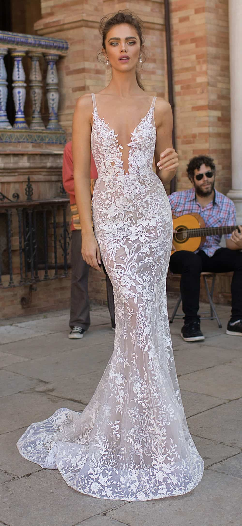 lace berta bridal 2018 wedding dress