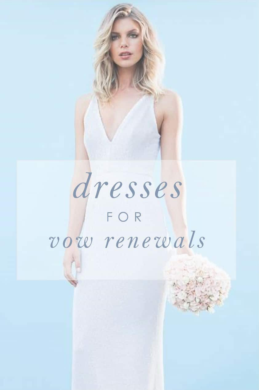 dresses for renewing your vows