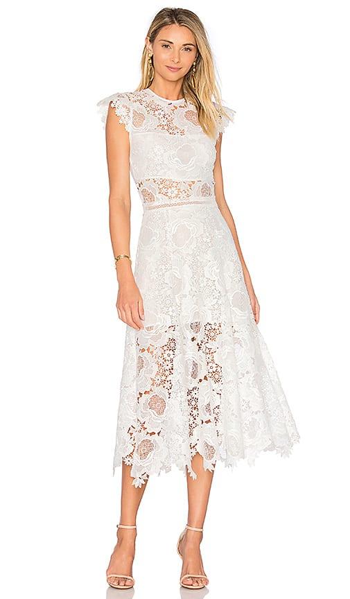 Ivory Lace Midi Dress Dress For The Wedding