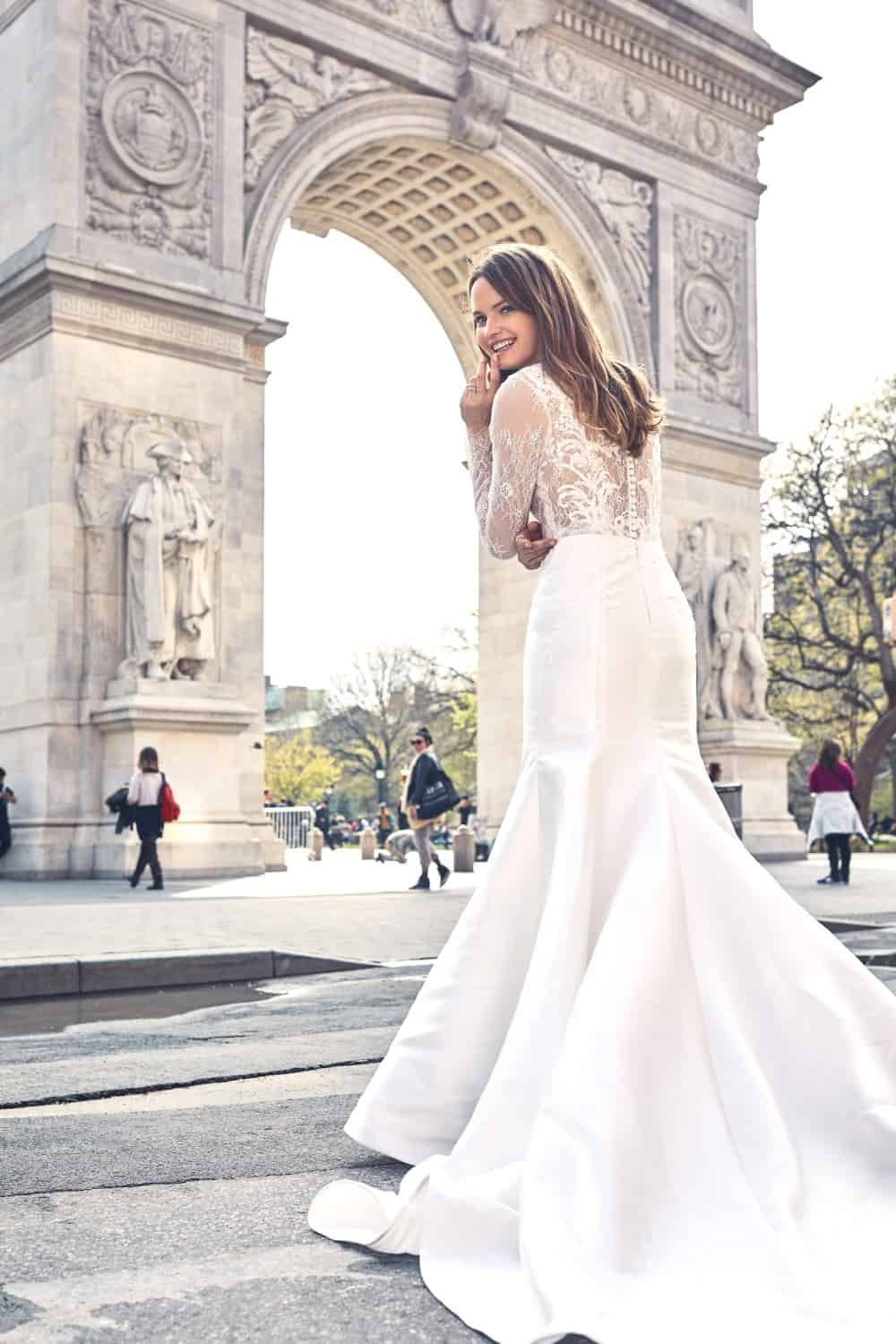 Long sleeve wedding dress 2018