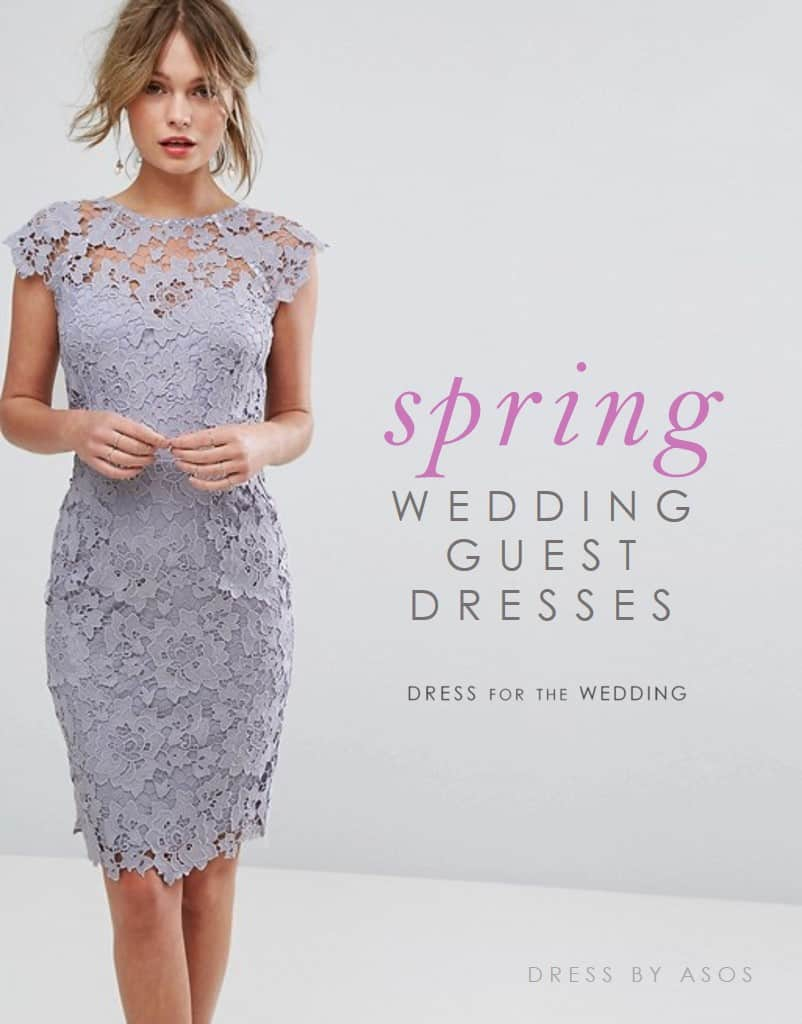 Spring wedding guest dresses dress for the wedding for Spring wedding dress guest