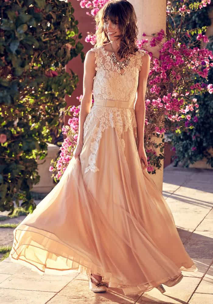 affordable wedding dress for 2018