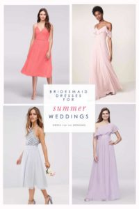 The best bridesmaid dresses for summer weddings