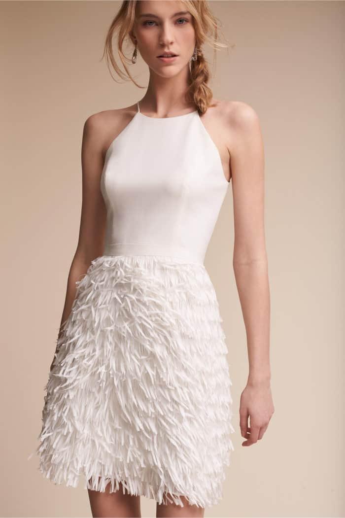Cute little white dresses dress for the wedding for Cute white wedding dresses