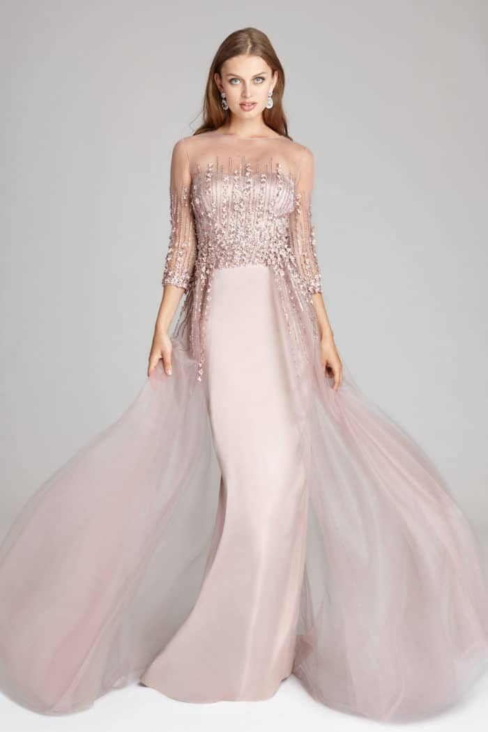 Stunning Blush Pink Gown for Mother of the Bride