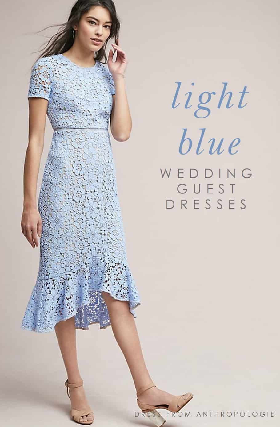 guest dresses for wedding light blue dresses 4636