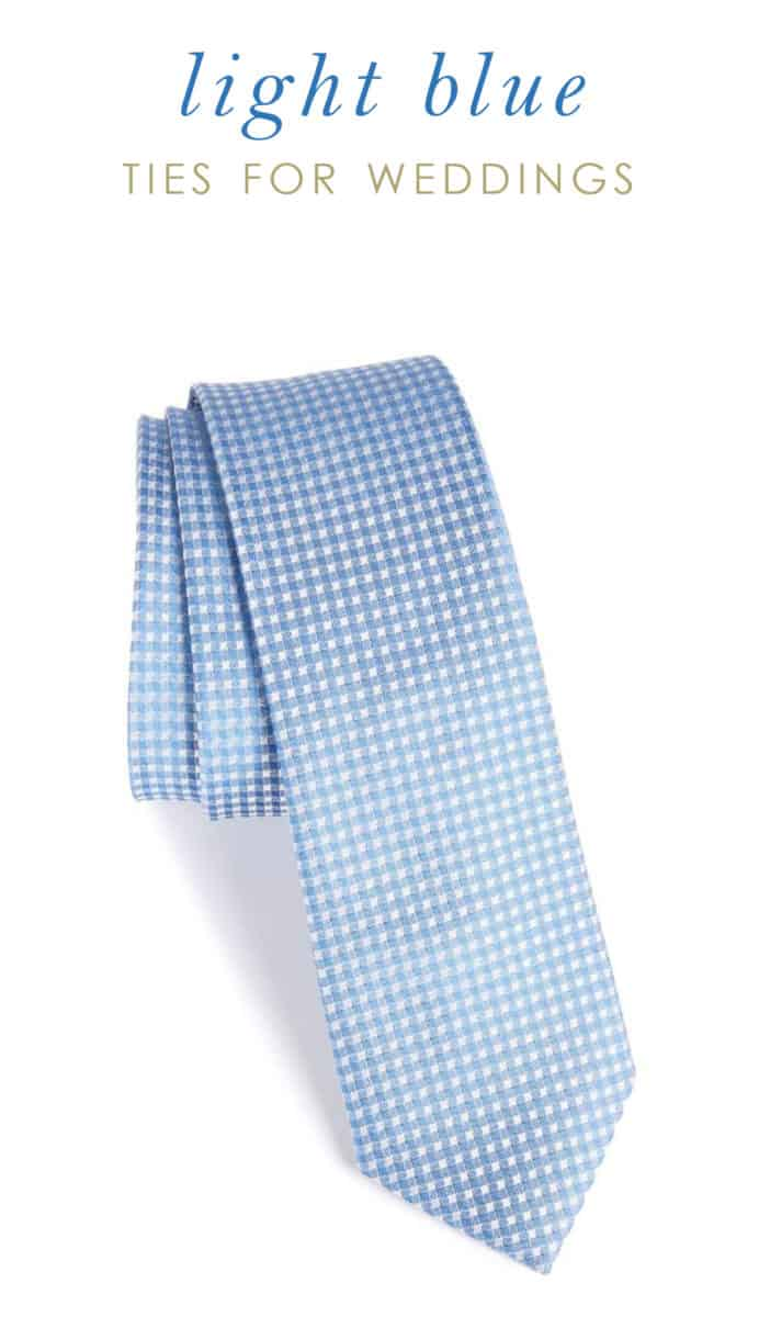 light blue ties for groomsmen