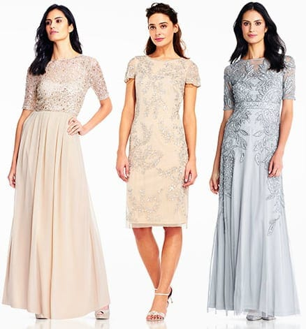 Short Sleeve Mother of the Bride Dresses | Dress for the Wedding