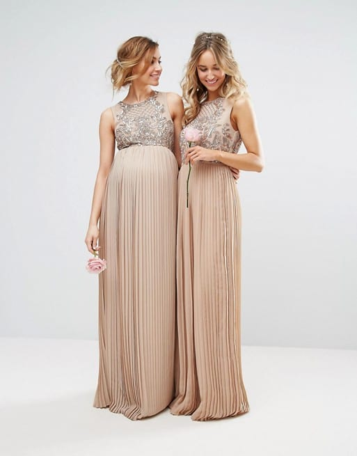 Beautiful wedding maternity dresses pictures styles for Wedding guest pregnancy dresses