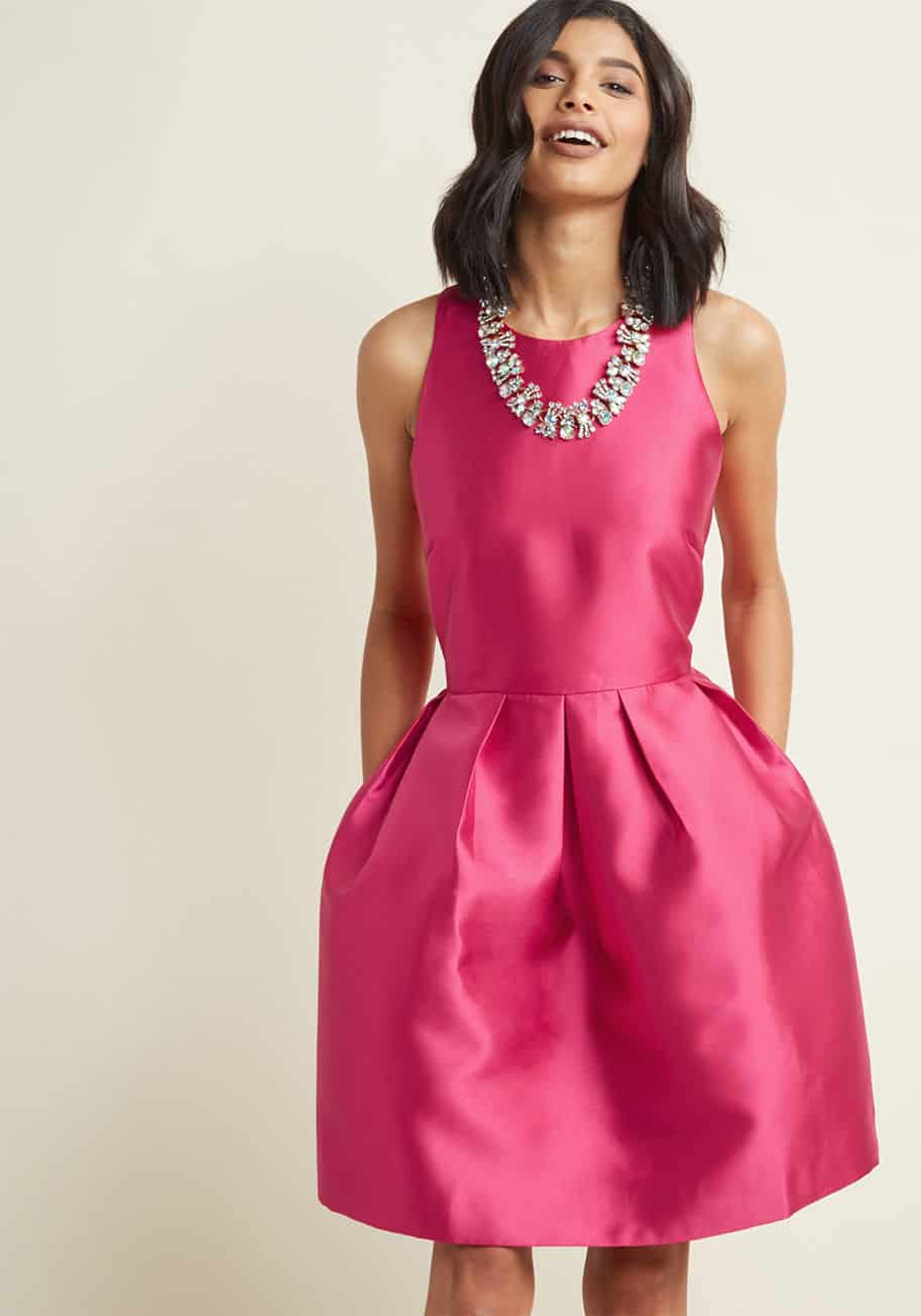 Pink Dresses for Wedding Guests | Dress for the Wedding