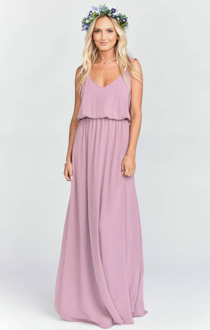 bridesmaid dresses show me your mumu