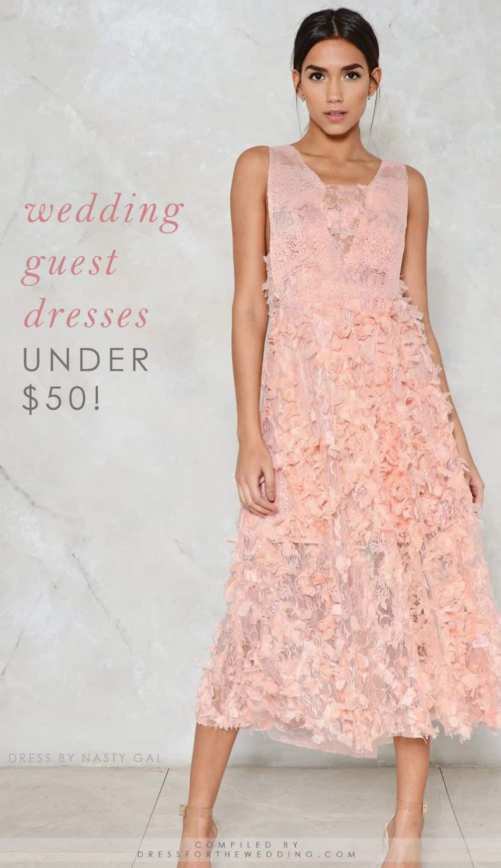 Wedding Guest Dresses Under $50 | Dress for the Wedding