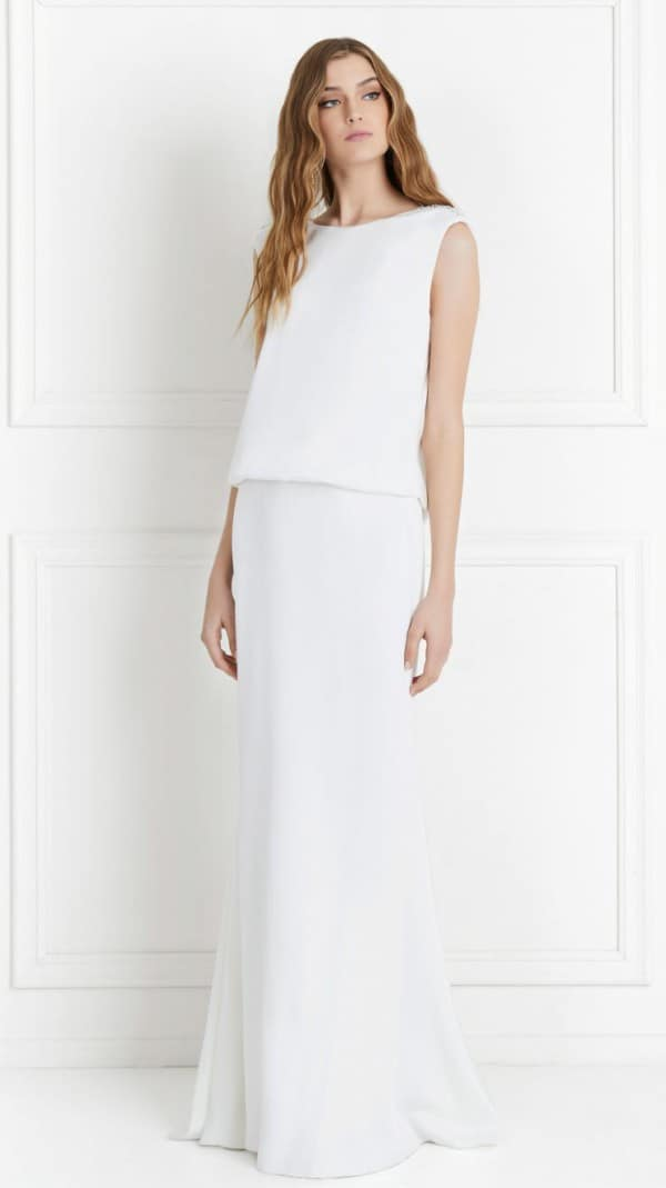 Ava Satin Wedding Dress By Rachel Zoe