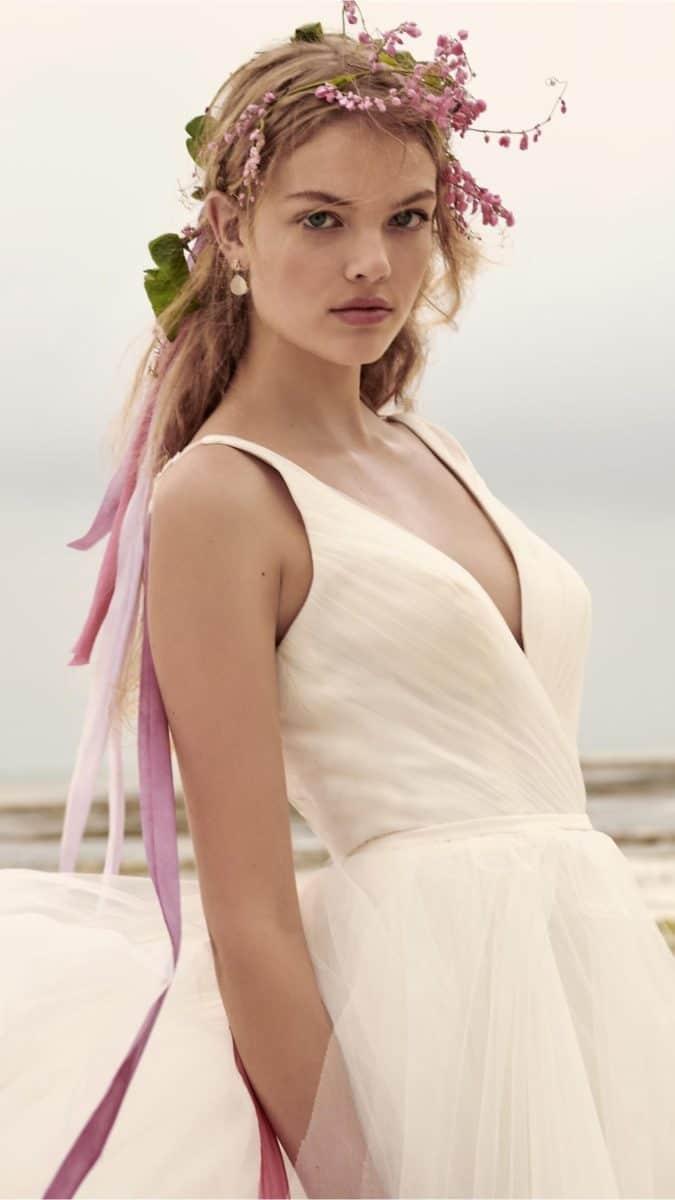new ballgown wedding dress bhldn