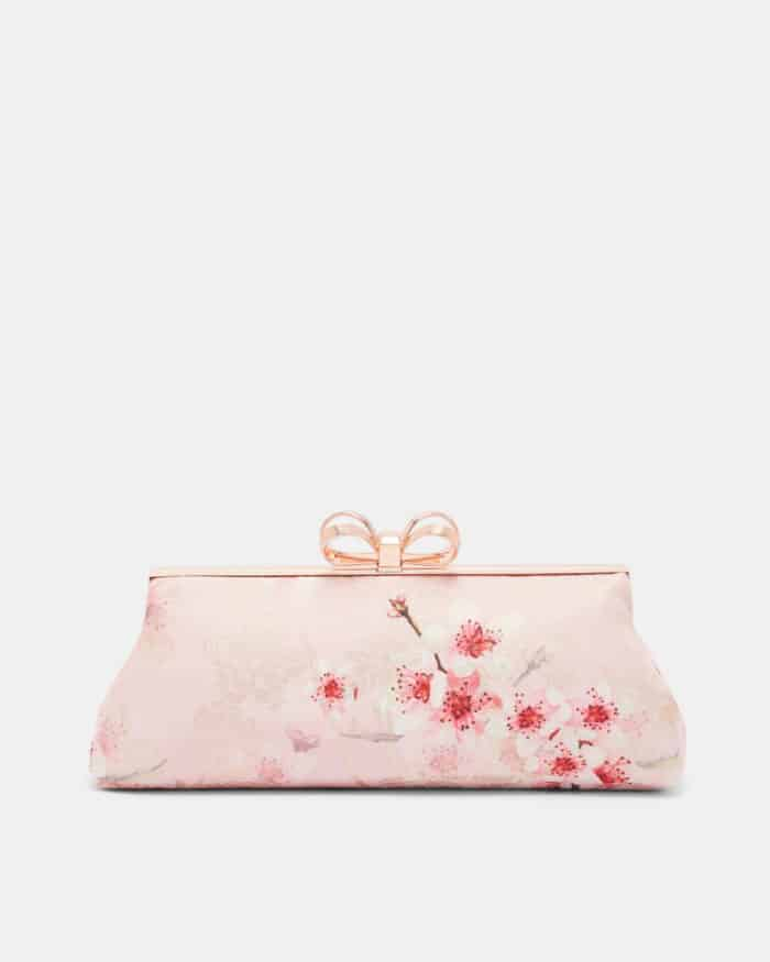 cherry blossom clutch for a wedding