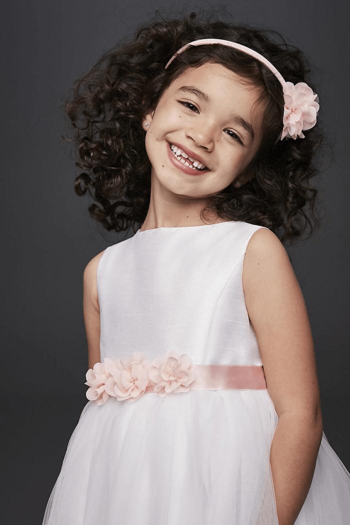 cherry blossom flower girl style