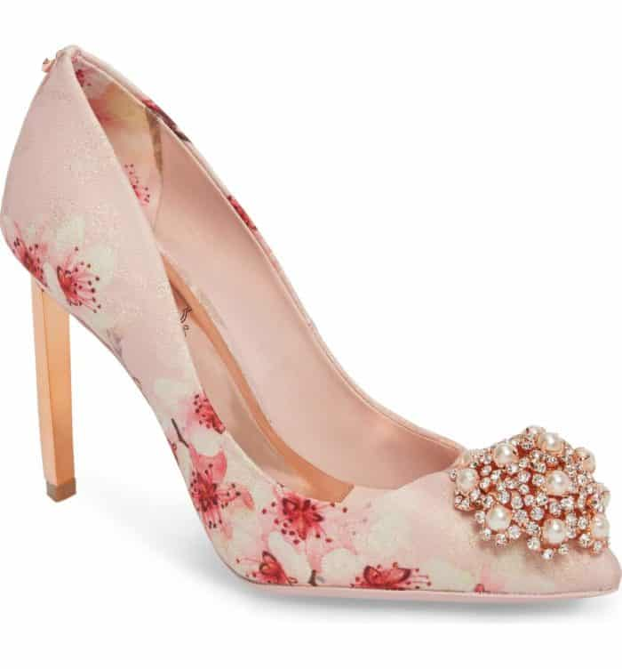 cherry blossom heels by Ted Baker