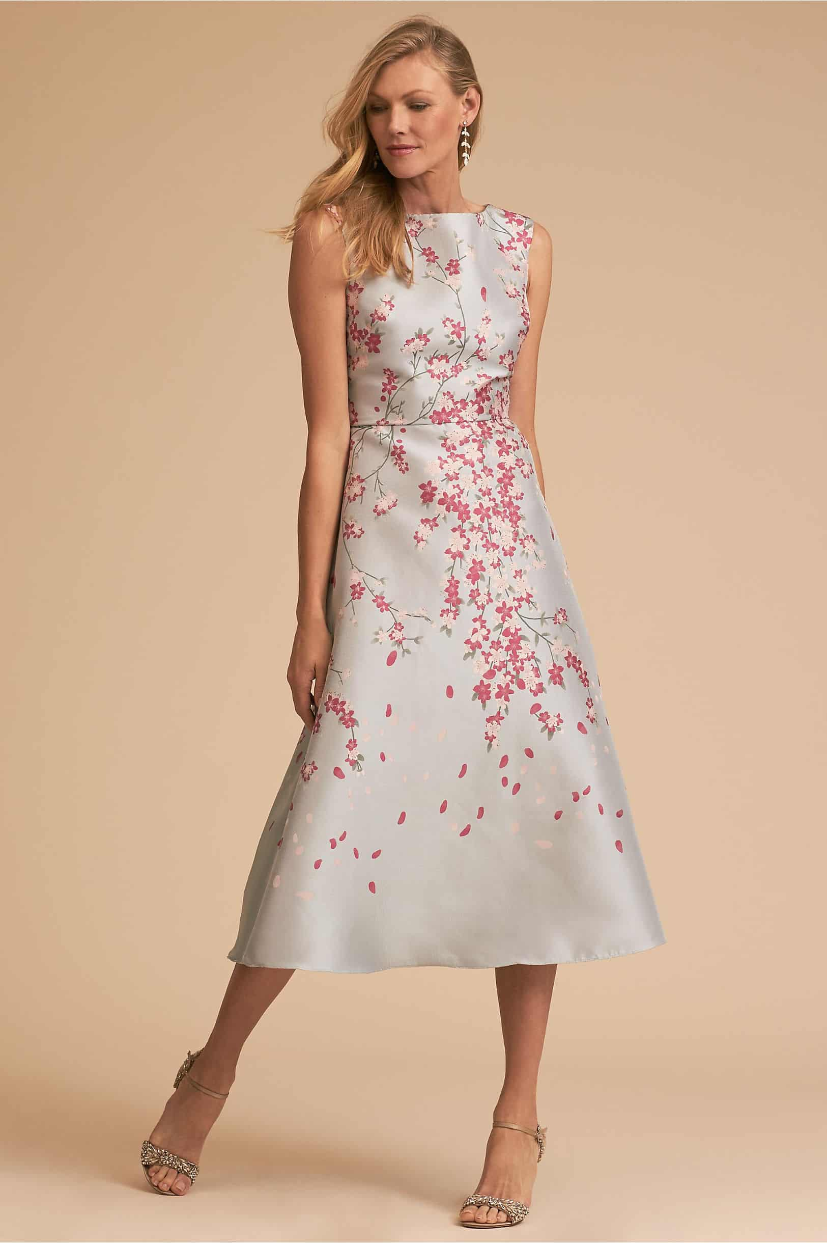 cherry blossom mother of the bride dressfrom BHLDN