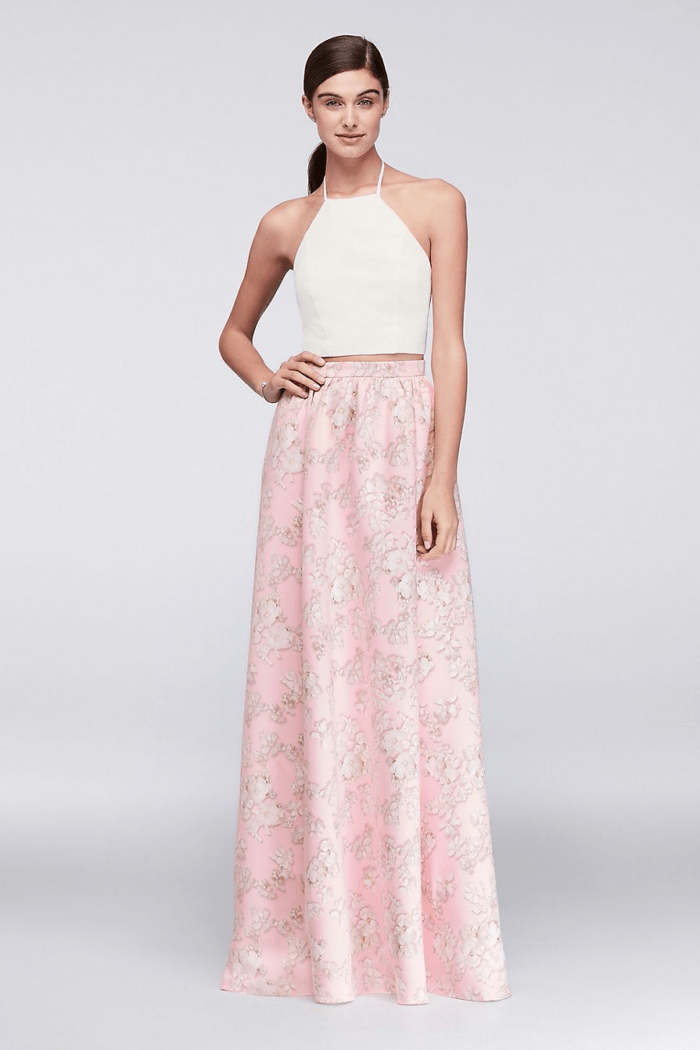 cherry blossom skirt for wedding