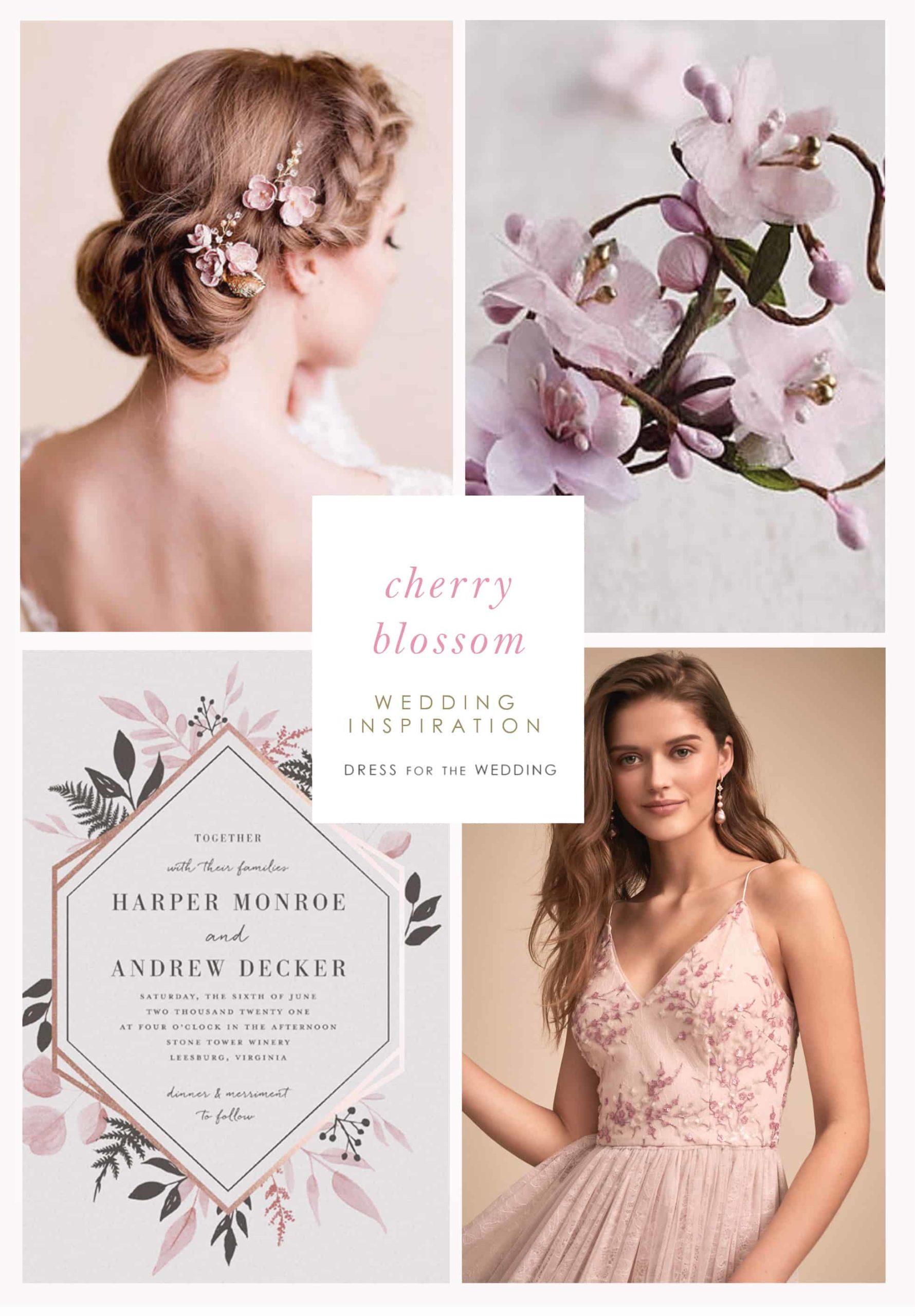 cherry blossom wedding ideas and inspiration
