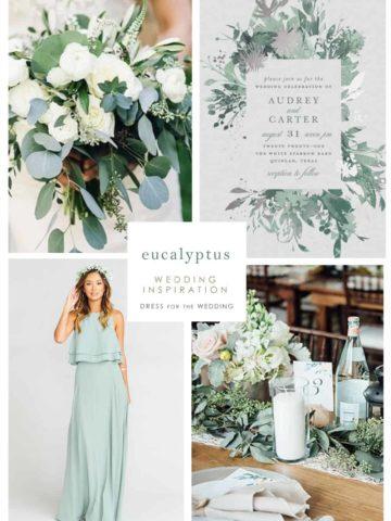 eucalyptus wedding ideas