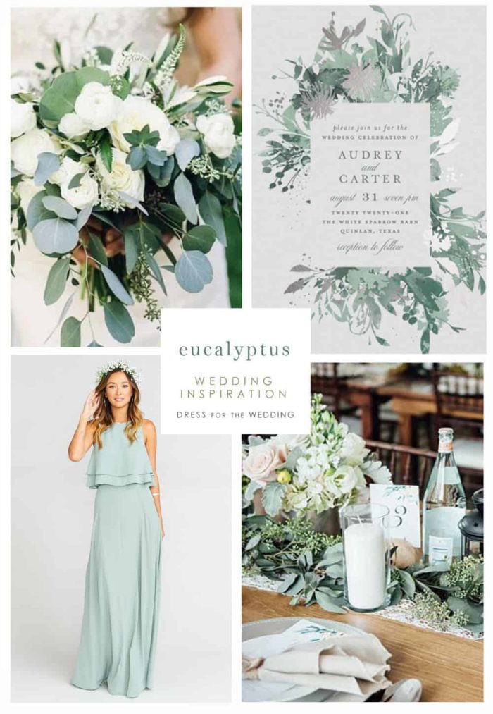 Eucalyptus Wedding Ideas Dress For The Wedding
