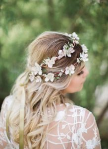 floral blossom halo