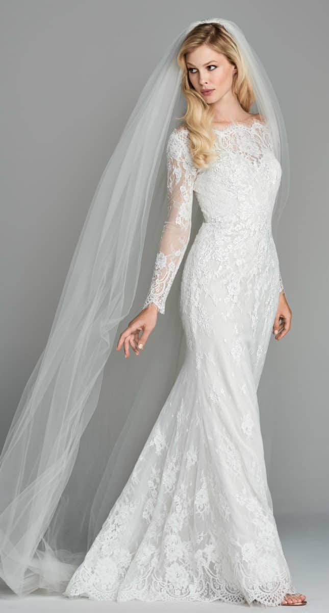Wtoo Kensington Gown a long sleeve lace wedding dress