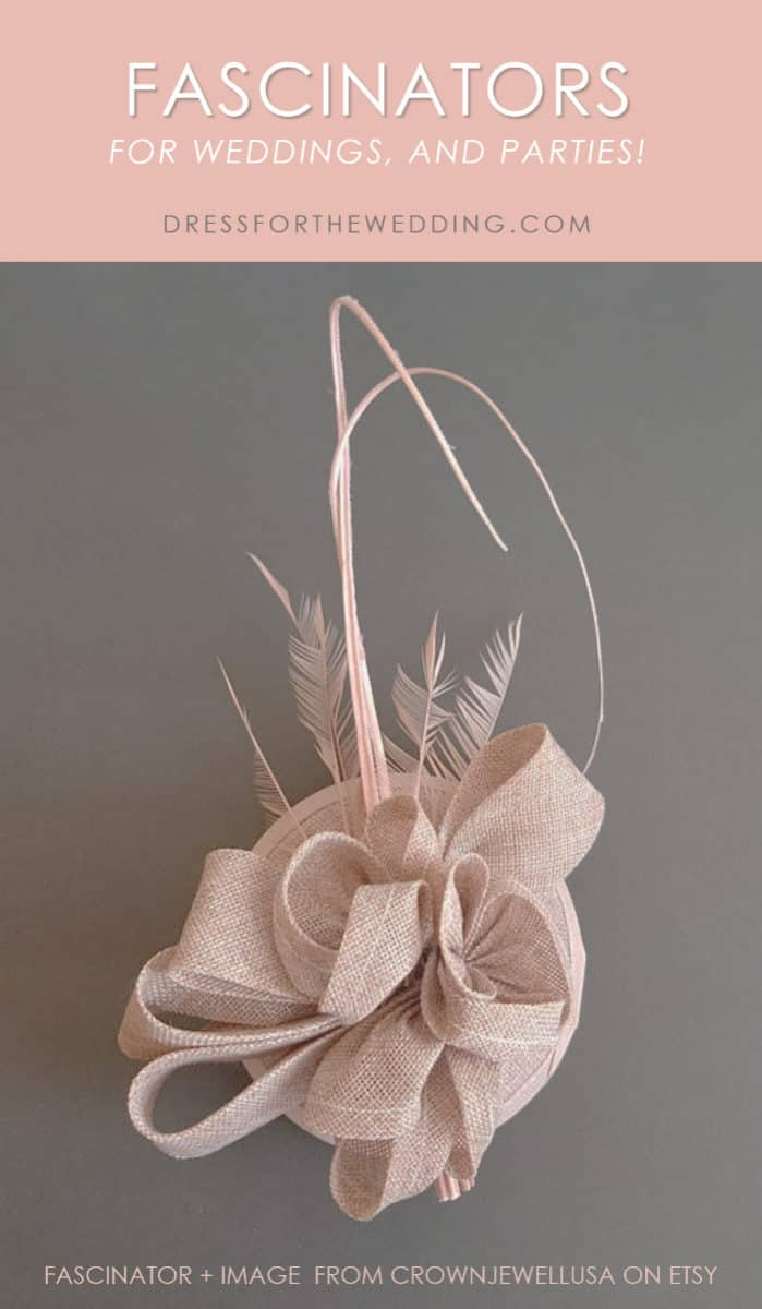 Fascinators for weddings and parties