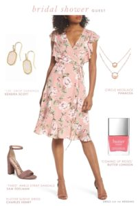 dress to wear to a bridal shower