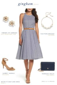 bridal shower dresses and bridal shower attire ideas cute gingham dress