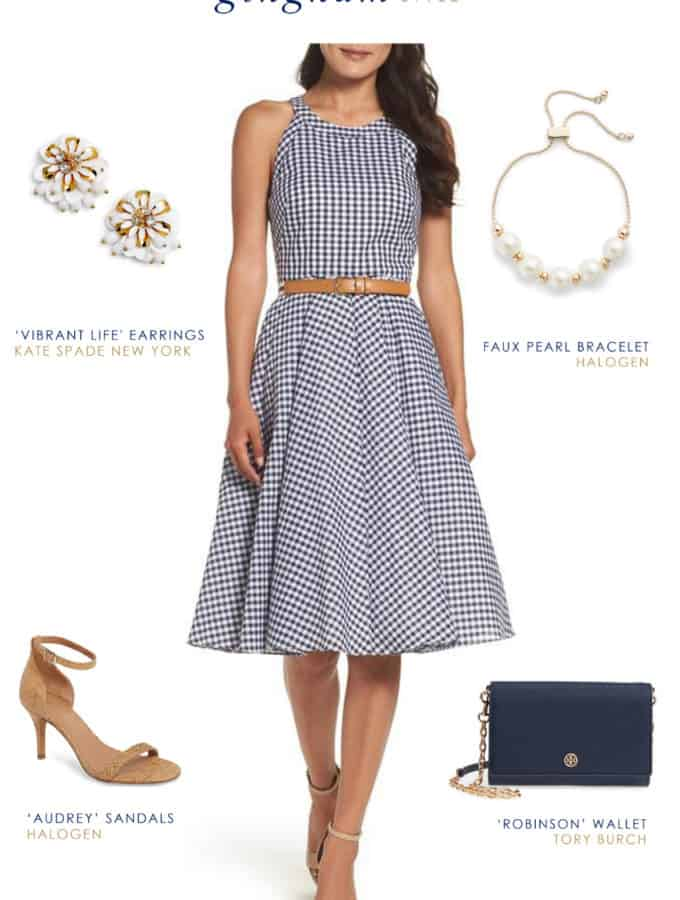 cute gingham dress