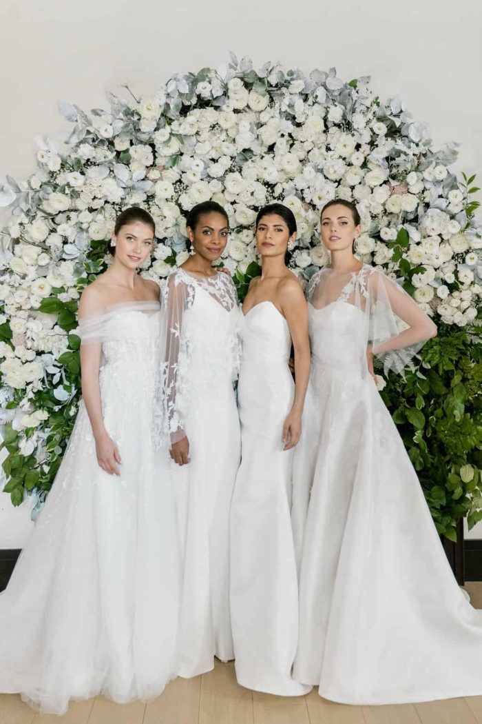 new designer wedding dresses by Anne Barge 2019