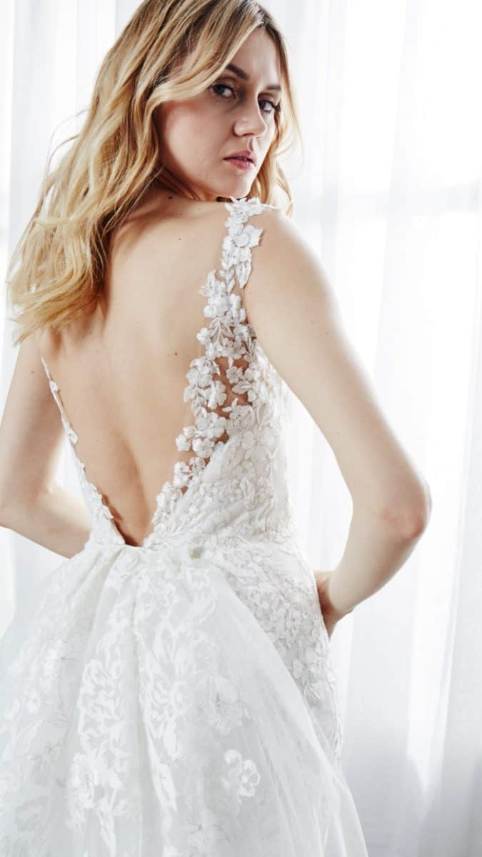 Detail of Taylor Wedding Dress