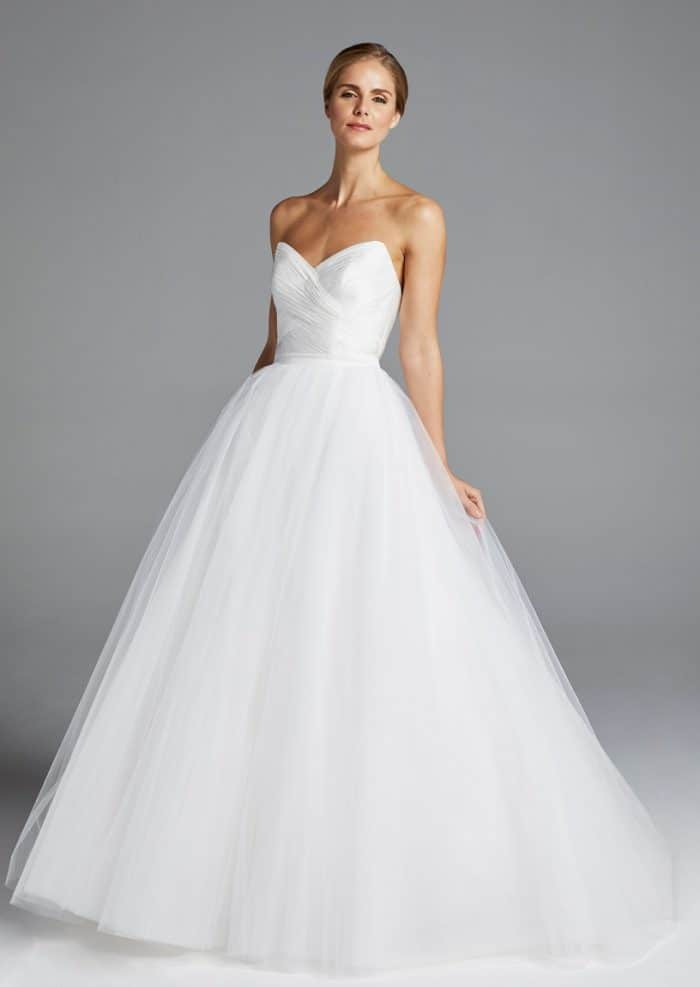 Tulle ballgown Amal wedding dress by Anne Barge