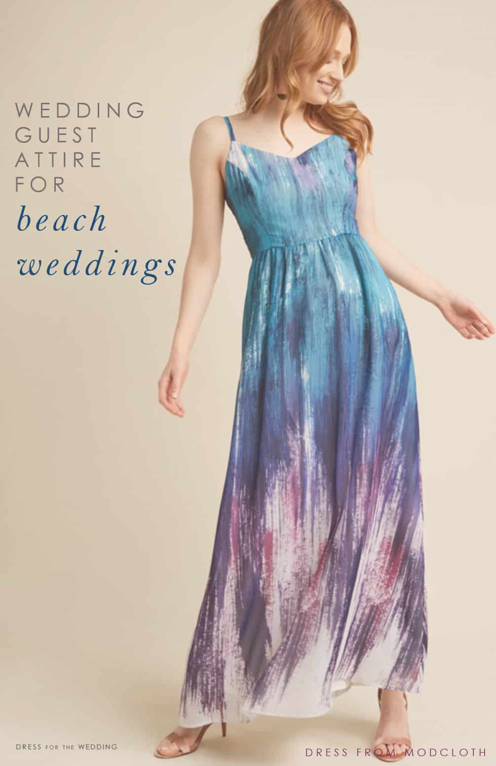 40582ccd196f Beach Wedding Guest Dresses