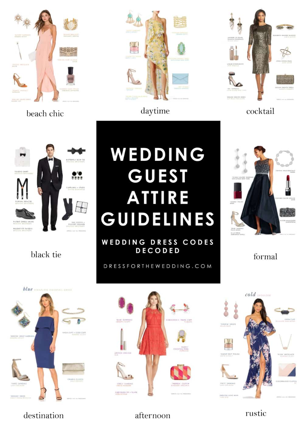 4c2ae5233bf Wedding Guest Attire Guidelines