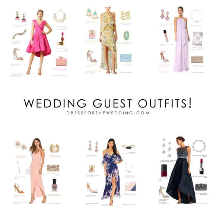 outfit ideas for wedding guests