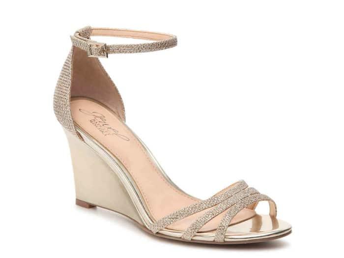 wedge wedding heels under $50