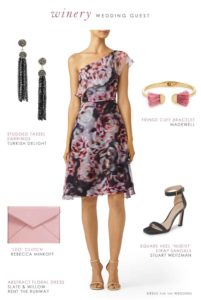 What to Wear to a Winery Wedding